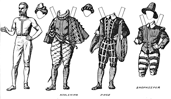 Elizabethan Style「The Gallery Of British Costume: Dress Worn In The Late Sixteenth Century」:写真・画像(3)[壁紙.com]