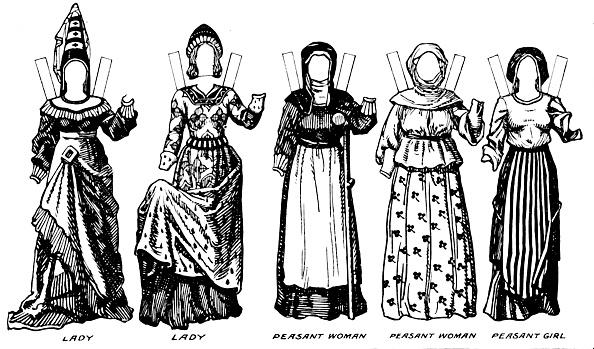 Circa 15th Century「The Gallery Of British Costume: The Dresses Worn In Richard Iiis Reign C」:写真・画像(11)[壁紙.com]