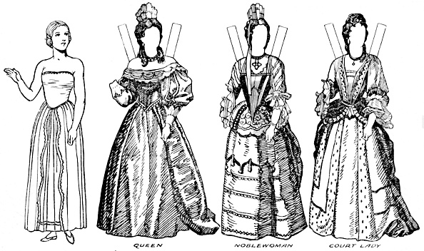 Clipping Path「The Gallery Of English Costume: Some Of The Dresses Worn In William Iiis Time C」:写真・画像(2)[壁紙.com]