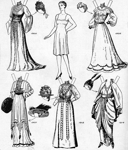 Clipping Path「The Gallery Of Historic Costume: Dresses Worn During The Twentieth Century」:写真・画像(15)[壁紙.com]
