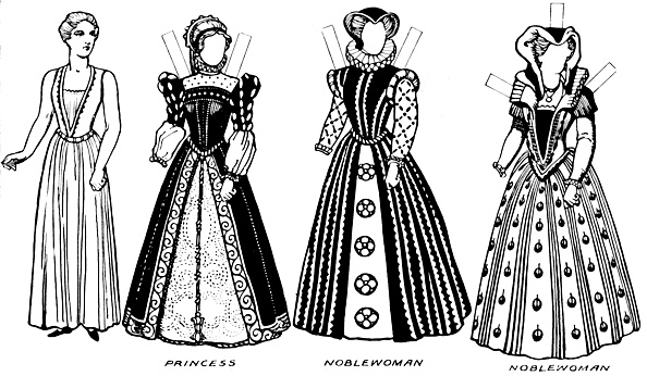 Clipping Path「The Gallery Of Costume: Dresses Worn In The Days When Queen Mary Reigned」:写真・画像(8)[壁紙.com]