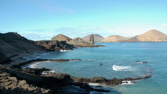 ガラパゴス諸島「埋込式の火山クレーターガラパゴス諸島」:スマホ壁紙(17)