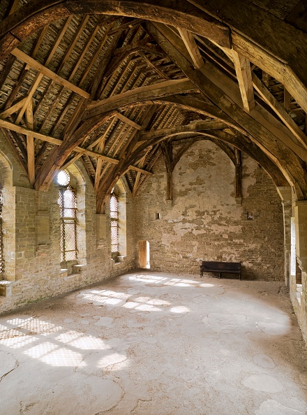 Ceiling「The Hall At Stokesay Castle」:写真・画像(5)[壁紙.com]