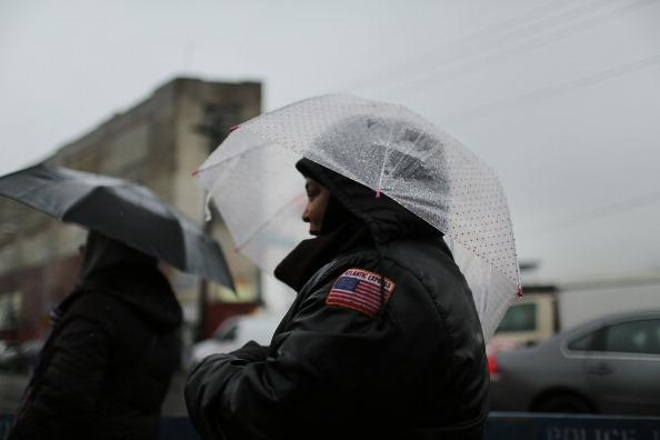 School Bus「New York City School Bus Drivers Strike For Better Job Protection」:写真・画像(5)[壁紙.com]