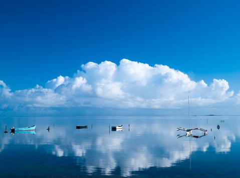 オアフ島「Horizon Over Sea」:スマホ壁紙(0)