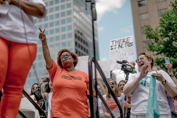 Jacob Moscovitch「Planned Parenthood Holds Rally To Protest Closure Of Last Abortion Clinic In Missouri」:写真・画像(16)[壁紙.com]