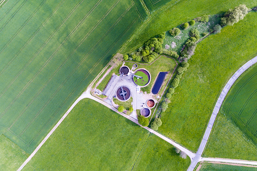 Ecosystem「Sewage treatment plant - waste water purification」:スマホ壁紙(8)