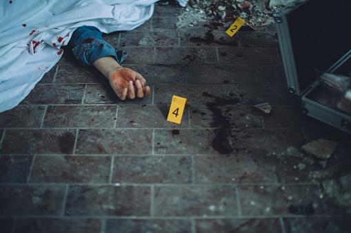 柿「Crime scene」:スマホ壁紙(3)
