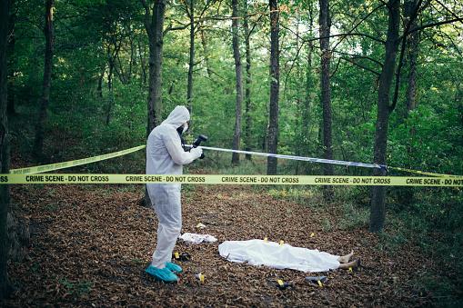 雪「Crime scene forensics investigator」:スマホ壁紙(5)