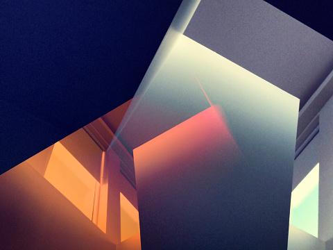Iceland「Multiexposure image of sunlit room」:スマホ壁紙(12)