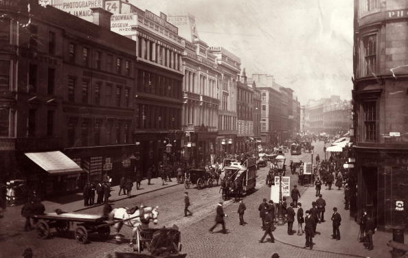 Glasgow「Street In Glasgow」:写真・画像(6)[壁紙.com]