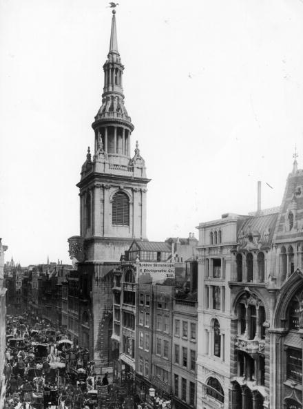 Architectural Feature「St Mary-Le-Bow」:写真・画像(11)[壁紙.com]