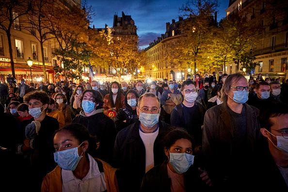 France「France's National Tribute To Beheaded Teacher」:写真・画像(6)[壁紙.com]