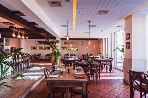 Gourmet「An Italian Restaurant Interior Setup」:スマホ壁紙(4)