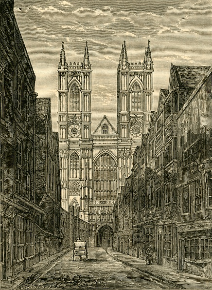 Facade「West Front Of Westminster Abbey」:写真・画像(15)[壁紙.com]