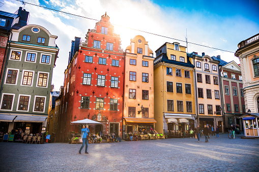 Old Town「Stockholm, Sweden, Old town and town square」:スマホ壁紙(16)