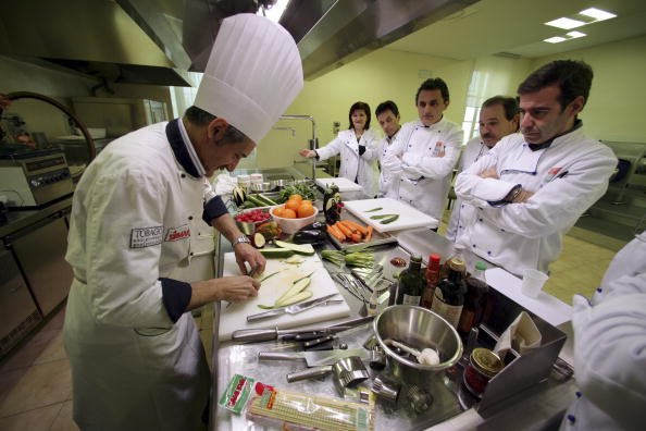 Workshop「Italian Chefs Hold Master Classes In Local Cuisine」:写真・画像(4)[壁紙.com]