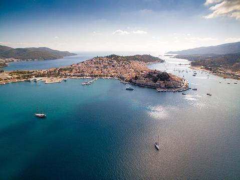Aegean Sea「Port Piraeus in Athens」:スマホ壁紙(1)