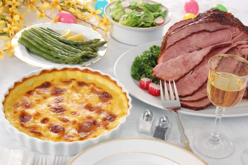 イースター「復活祭のディナー」:スマホ壁紙(2)