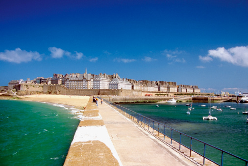 France「Island of Saint Malo, North Brittany, France」:スマホ壁紙(7)