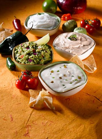 Sour Cream「Guacamole and Mexican Cheese Dips」:スマホ壁紙(5)