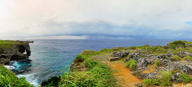 Cliff「Cape Manzamo, Okinawa, Japan」:スマホ壁紙(17)