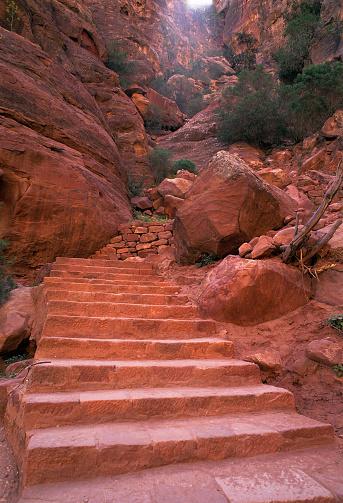Archaeology「Stone Staircase.Petra.」:スマホ壁紙(12)