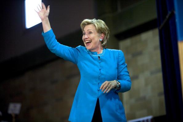 Rick Scibelli「Hillary Clinton Campaigns For Barack Obama In New Mexico」:写真・画像(1)[壁紙.com]