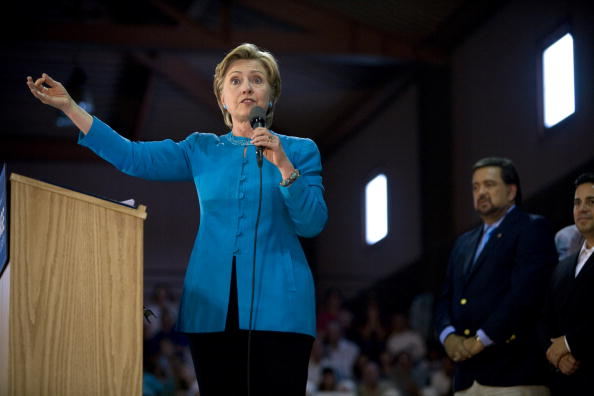Rick Scibelli「Hillary Clinton Campaigns For Barack Obama In New Mexico」:写真・画像(11)[壁紙.com]