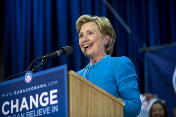 Rick Scibelli「Hillary Clinton Campaigns For Barack Obama In New Mexico」:写真・画像(2)[壁紙.com]