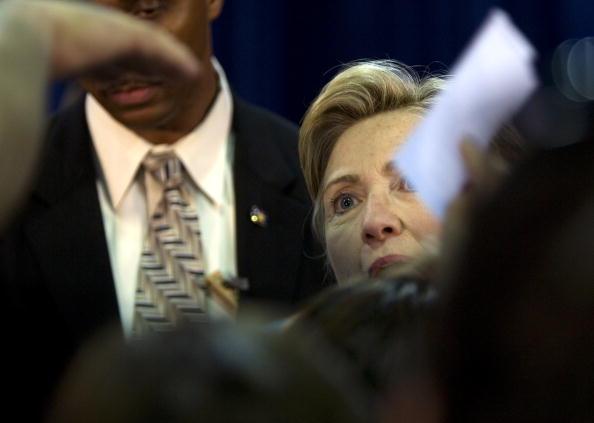 Rick Scibelli「Hillary Clinton Campaigns For Barack Obama In New Mexico」:写真・画像(13)[壁紙.com]