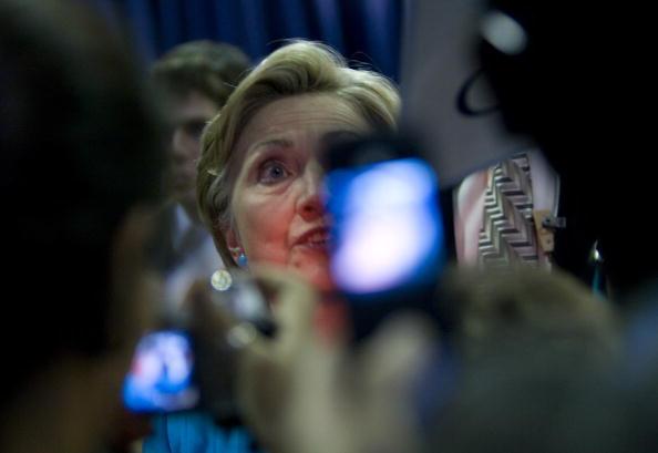Rick Scibelli「Hillary Clinton Campaigns For Barack Obama In New Mexico」:写真・画像(14)[壁紙.com]