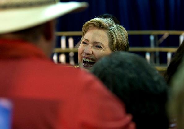 Rick Scibelli「Hillary Clinton Campaigns For Barack Obama In New Mexico」:写真・画像(7)[壁紙.com]