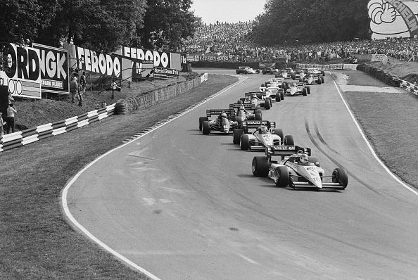 Auto Racing「1984 British Grand Prix」:写真・画像(9)[壁紙.com]