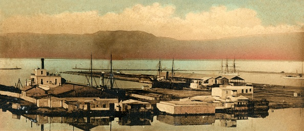 Hand Colored「Suez - The Docks」:写真・画像(2)[壁紙.com]