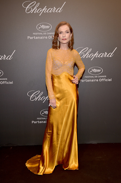 Isabelle Huppert「Chopard Space Party - Photocall - The 70th Cannes Film Festival」:写真・画像(13)[壁紙.com]
