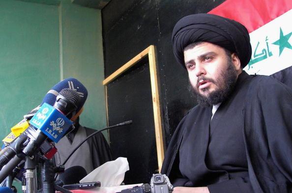 Muqtada Al-Sadr「Moqtada al-Sadr Holds Press Conference In Najaf」:写真・画像(1)[壁紙.com]
