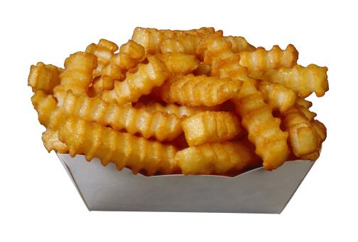 Scalloped - Pattern「Crinkle-cut french fries」:スマホ壁紙(4)