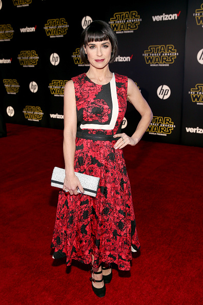 "スター・ウォーズ・シリーズ「Premiere Of ""Star Wars: The Force Awakens"" - Red Carpet」:写真・画像(1)[壁紙.com]"