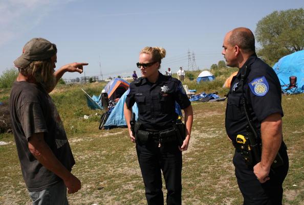 Homelessness「Evictions Start At Sacramento's Tent City」:写真・画像(1)[壁紙.com]