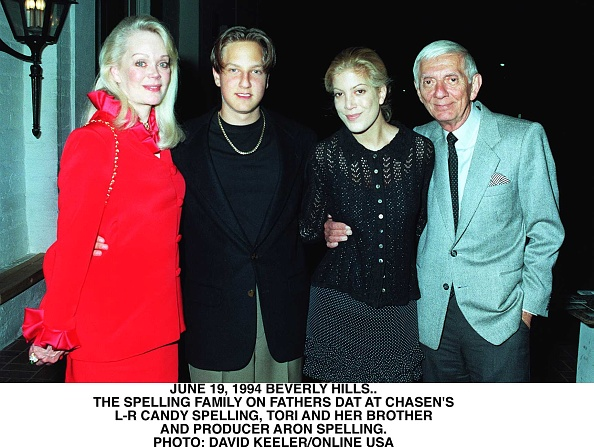 父の日「Chasens Restaurant Beverly Hills Fathers Day The Spelling Family Left To Right Ca」:写真・画像(5)[壁紙.com]