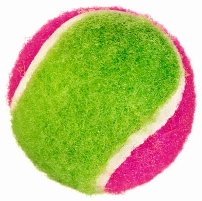 テニスボール「A bright neon pink and green tennis ball」:スマホ壁紙(11)