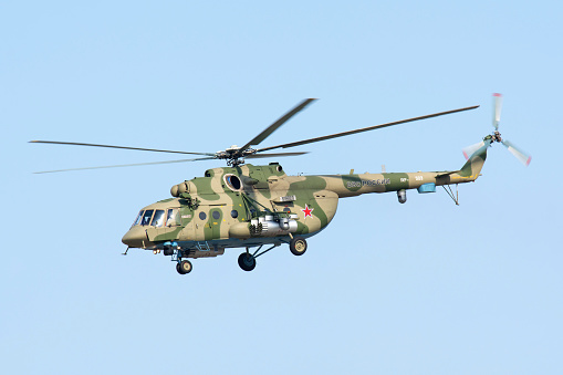 Russian Military「Russian Air Force Mi-171Sh helicopter.」:スマホ壁紙(1)