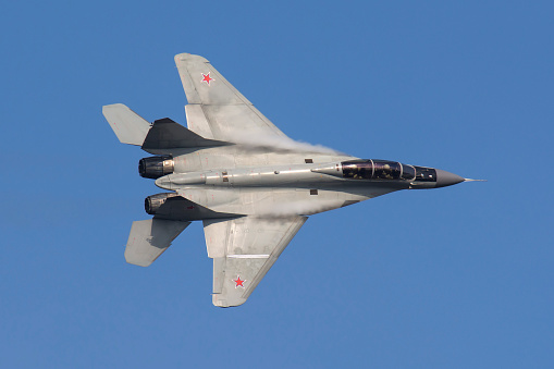 Russian Military「A Russian Air Force MiG-35 fighter plane.」:スマホ壁紙(1)