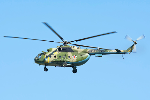Russian Military「Russian Air Force Mi-8MTV landing in Ryazan, Russia, after a mission during exercise Aviadarts 2016.」:スマホ壁紙(15)