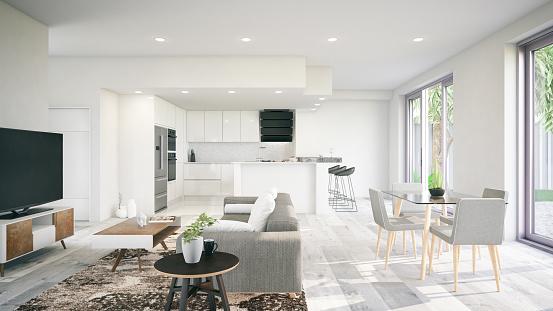 Home Ownership「Modern Interior」:スマホ壁紙(2)