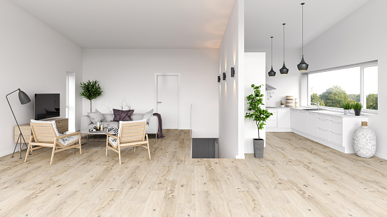 Stove「Modern interior apartmen」:スマホ壁紙(17)