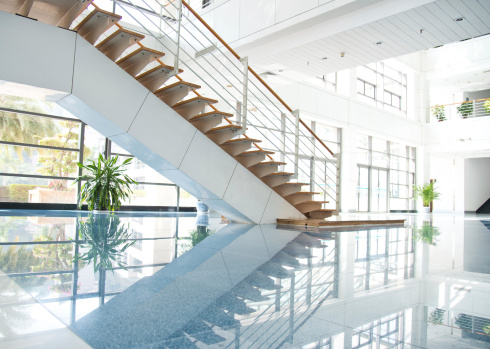 Low Angle View「modern interior」:スマホ壁紙(5)