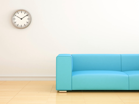 Clock「Modern interior Livingroom」:スマホ壁紙(18)