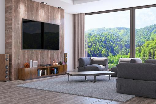 Turkey - Middle East「Modern Interior Design Of The Living Room」:スマホ壁紙(11)